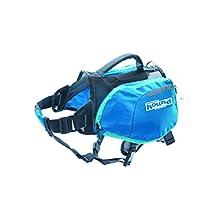 Outward Hound Kyjen 22001 DayPak Dog Backpack Adjustable Saddlebag Style Dog Accessory, Small, Blue
