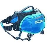 Outward Hound Kyjen DayPak Dog Backpack Adjustable Saddlebag Style Dog Accessory, Small, Blue