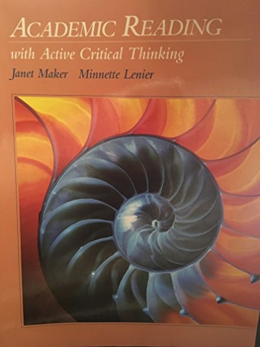 Academic Reading With Active Critical Thinking