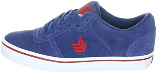 Vox Skate Shoes Downlow Navy Red White