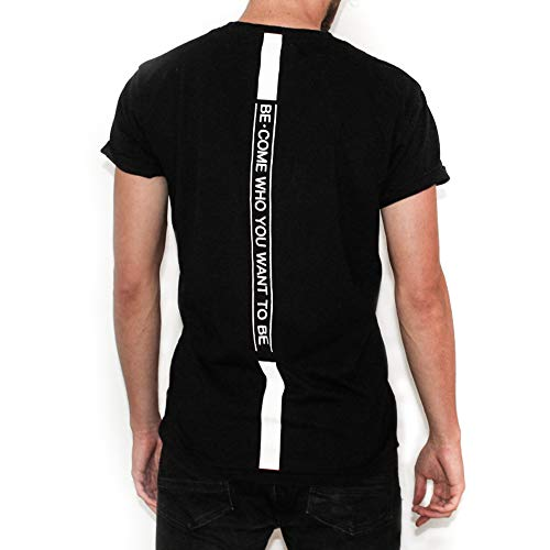 Athleisure Workout T Shirts for Men | Short Sleeve tee | Vecome Black