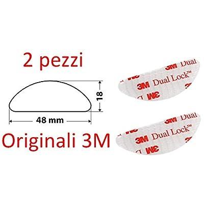 3M Adhésif pour fixation télépéage original, dual Lock, 2pièces
