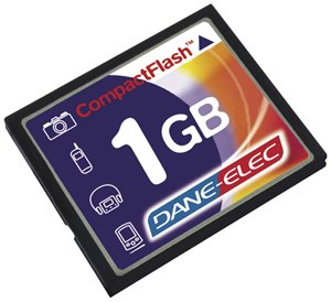 Dane Elec DA-CF-1024R 1GB Compact Flash Card
