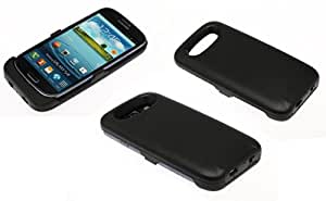Vanda®-Funda Carcasa con Bateria Samsung Galaxy S3 i9300 - Power Pack Capacidad 3500 mAh - Powerbank Samsung Galaxy i9300 S3 Powercase-negro
