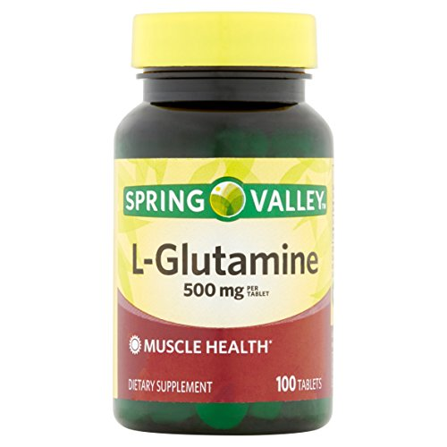 Spring Valley - L-Glutamine 500 mg, 100 Tablets by Spring Valley