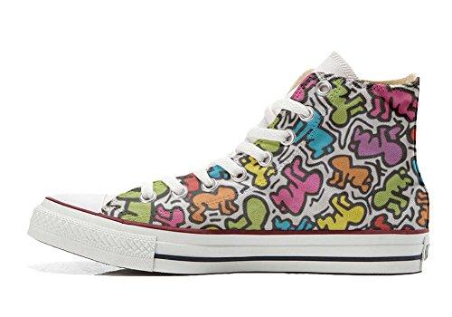 Converse All Star zapatos personalizados Unisex (Producto Artesano) Life stilizzato