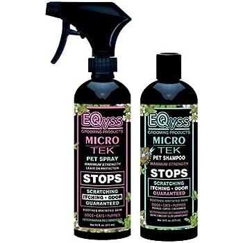 Eqyss Micro-Tek System Pack: Pet Shampoo and Pet Spray