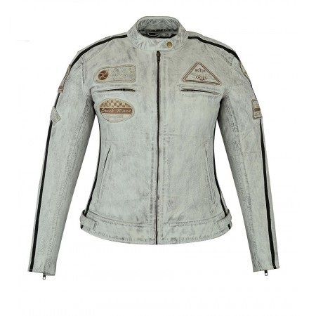 promo code 8d4cd bce12 Giacca in pelle per moto, vintage, da donna: Amazon.it: Auto ...