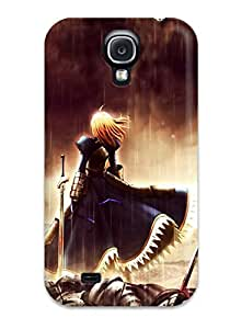 Hot 8215620K84999620 Sanp On Case Cover Protector For Galaxy S4 (fate Stay Zero)