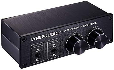 HDJ 2 Inおよび2 Outスイッチャーボリュームコントローラー、RCA信号はXLRバランス信号に切り替わり、電源は不要です