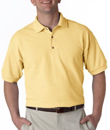 72a6487f 3800 Gildan Ultra Cotton® Adult Piqué Polo (Yellow Haze) (S) - Buy Online  in UAE. | Apparel Products in the UAE - See Prices, Reviews and Free  Delivery in ...