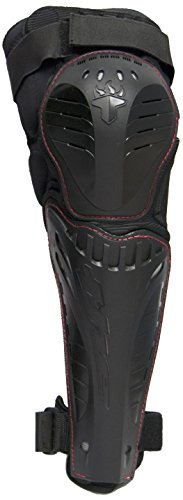 THE Industries F2-Storm Knee/Shin BMX and Mountain Bike Pad Cycling Protective Gear, Large/X-Large