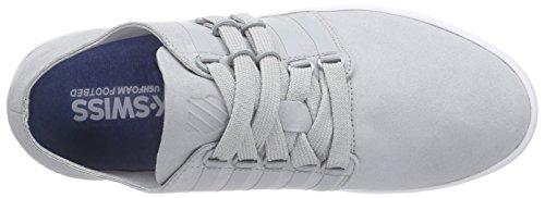 K-Swiss D R Cinch Lo, Sneaker Basse Uomo Grigio (Grau (High Rise/White 010))