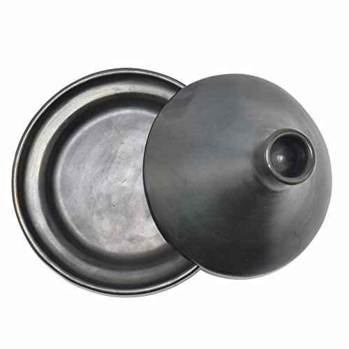 Black Clay, La Chamba Tagine by Ancient Cookware (Image #2)'