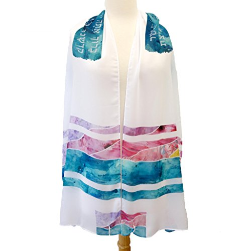 (Ocean Sunset Bat Mitzvah Tallit)