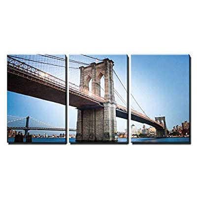 Brooklyn Bridge in New York City x3 Panels 36
