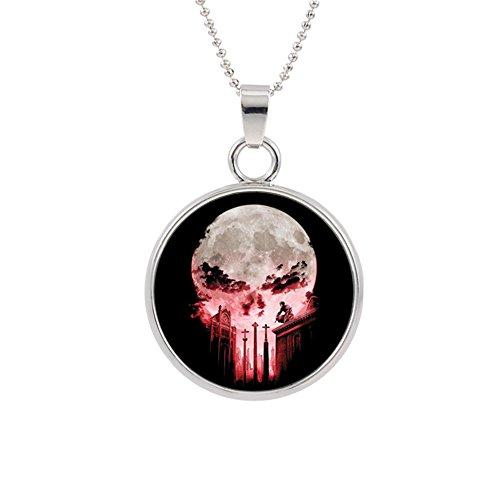 Punisher Skull Pendant Necklace Marvel Comics Movies Cartoon Superhero Logo Theme Premium Quality Detailed Cosplay Jewelry Gift (Skull Kid Zelda Costume)