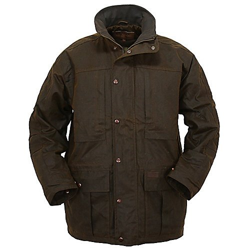 Outback Trading Co Men's Co. Deer Hunter Oilskin Jacket Bronze Small by Outback Trading