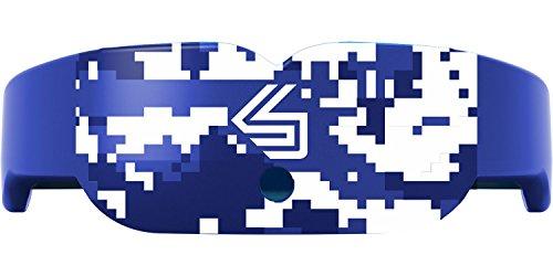 Shock Doctor Adult Gel Nano Camo Slim Fit Mouthguard (Blue)