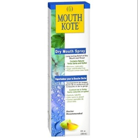 Mouthkote Alcohol Free Spray, Regular, 8oz per Bottle (12 Pack)