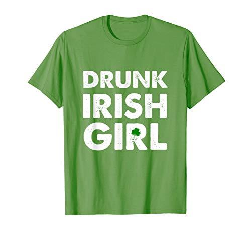Drunk Irish Girl tshirt