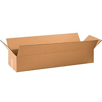 boxes fast bf34106 long cardboard boxes 34 x. Black Bedroom Furniture Sets. Home Design Ideas