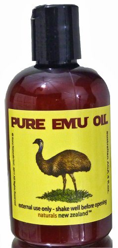 Emu Oil Pure Premium Golden Powerful Skin and Hair Moisturizer - 4 fl.oz