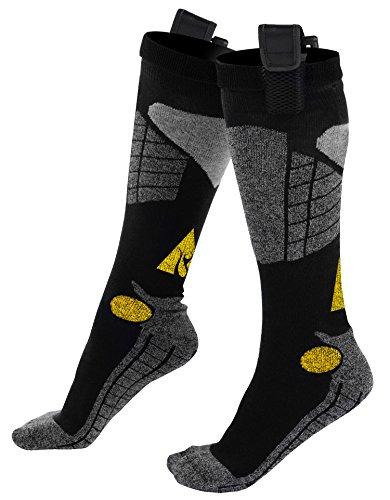 AlphaHeat AA Battery Heated Socks  Black/Grey Large / X-Large
