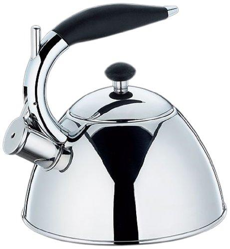 cilio Duke Whistling Kettle 2.5 Litres Größe: 20,5 cm - Inhalt: 2,5 L stainless steel cilio tisch-accessoires GmbH 430301