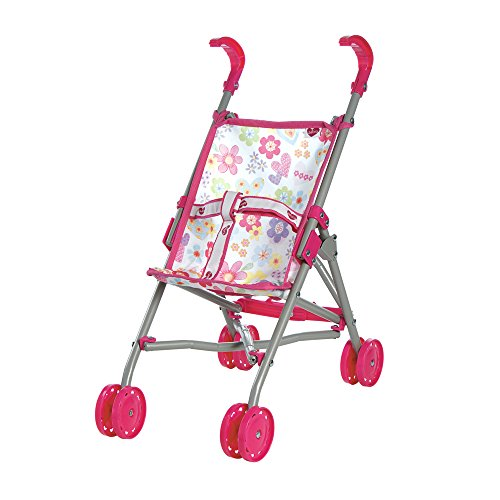 Toy Baby Doll Umbrella Stroller - 3