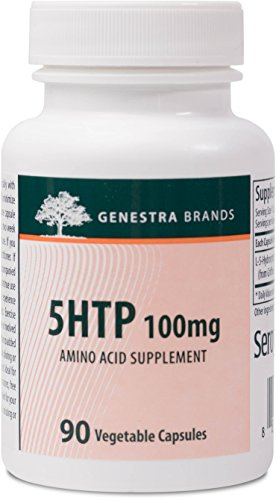 Genestra Brands - 5HTP 100 mg - Support for Sleep and Healthy Mood Balance* - 90 Vegetable Capsules by Genestra Brands
