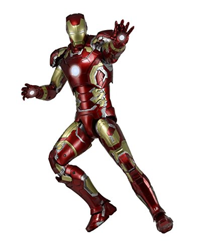 NECA Avengers 2: Iron Man Mark 43 Action Figure (1/4 Scale) ()