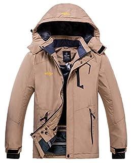 Wantdo Men's Winter Snow Coat Waterproof Ski Jacket Blending Yellow Medium (B07PG8ZVNH) | Amazon price tracker / tracking, Amazon price history charts, Amazon price watches, Amazon price drop alerts