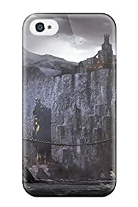 Tpu Case For Iphone 4/4s With Dragon Age Design