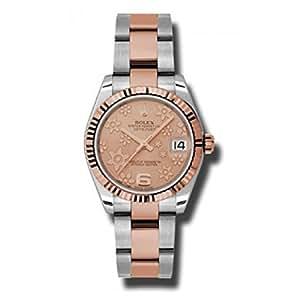 Rolex Datejust Pink Dial Women's Watch 178271