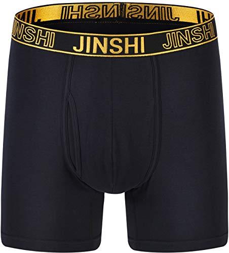 Algodón 3 negro Mf18 Pack Jinshi Hombre De Bóxer SqxpvnfwZ