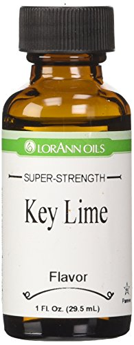 Key Lime Chocolate - LorAnn Natural Flavoring Oils, Natural Key Lime Oil, 1-Ounce Bottles (Pack of 4)