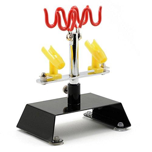- Master Airbrush Brand Table Top Airbrush Holder Station Stand Holds 4 Airbrushes Swivel Tilt Set