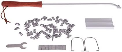Yebobo R BBQ Barbecue Fer a marquer Ensemble d'outils + Changeable Lettres Viande bifteck Hamburger DIY Barbecue