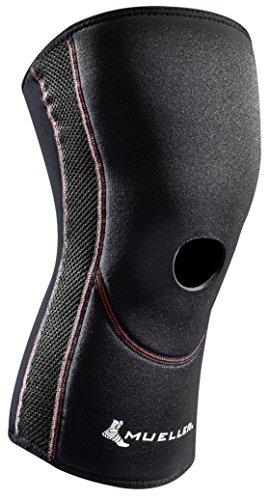 Mueller Sports Medicine Comfort Open Patella Knee Sleeve, XXXXX-Large, 0.60 Pound (Mueller Sleeve Patella Knee Open)