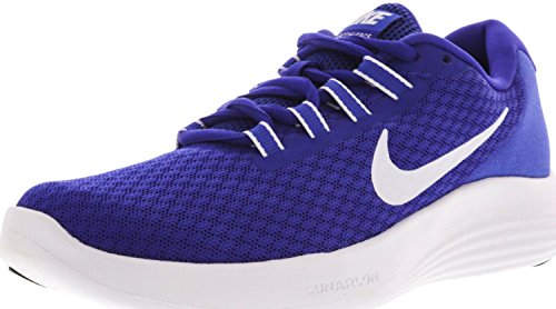 Nike Mens Lunarconverge Löparskor Avgörande Blå / Vit