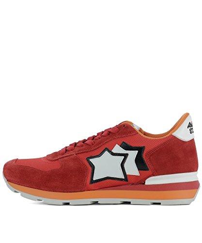 Herren Atlantic ANTARESFR85B Stars Rot Sneakers Stoff 0q5Bqw6n