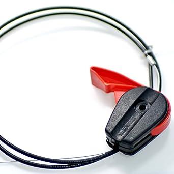 jrl cortacésped del acelerador Cable para 65 inch universal cortacésped partes