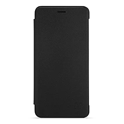 super popular b20b7 2d3f3 OnePlus X Flip Cover (Black)