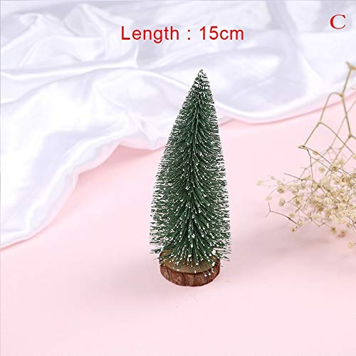 Pine Christmas - 1pc Christmas Tree Mini Xmas A Small Pine Placed In The Desktop Home Party Decoration Gifts 5 10 15 - Taste Tincture Snow Fire Socket Organizer Fireplace Ridge Logs Needles