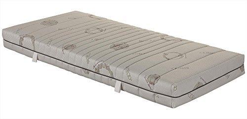 ABC Spring 7-Zonen-Taschenfederkernmatratze mit waschbarem Bambus-Bezug - Grösse 90x200