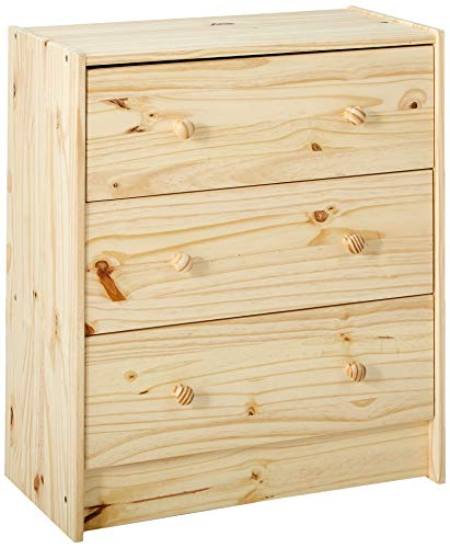 IKEA RAST 753.057.09 Dresser, Wood Color (Painted 3 Drawer Chest)