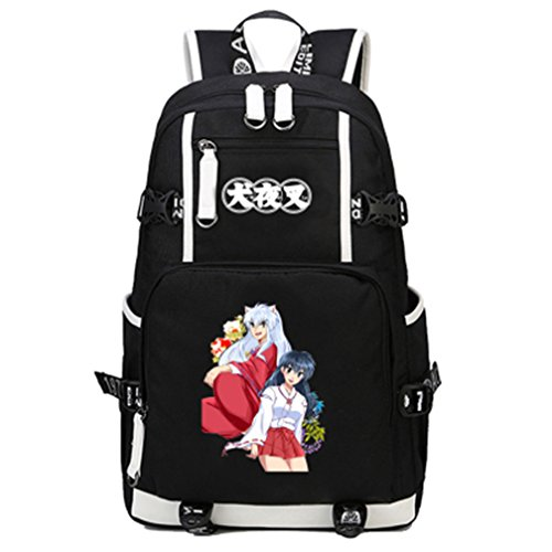 (YOYOSHome Anime Inuyasha Cosplay Daypack Bookbag College Laptop Bag Backpack School Bag)