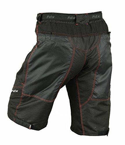 Pantaloncini da ciclismo MTB Off Road Bike clickfast Fodera separabile per FDX-Pantaloncini imbottiti