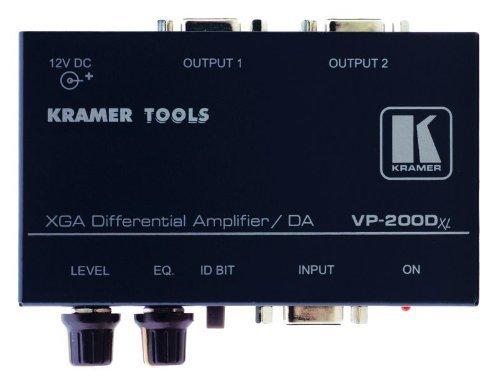 Kramer VP-200DXL 1:2 Computer Graphics Video Differential Line Amplifier by Kramer (Video Differential Line Amplifier)